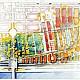 CONSULTATION, RESTRUCTURATION DES ENTREPÔTS DE BERCY - 1990. Surface construite: 150 000 m² sur 15 ha